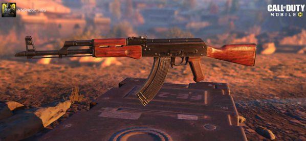 Top 5 khẩu súng cực tốt để thắng khi chơi Call of Duty Mobile 2