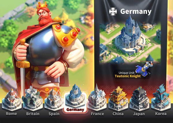 Rise of Kingdoms: Cách chọn quốc gia, chọn tướng cho người mới chơi 3